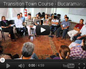 The first certificated courses in Transition Town in Colombia - Bogota