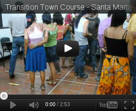 The first certificated courses in Transition Town in Colombia - Santa Marta