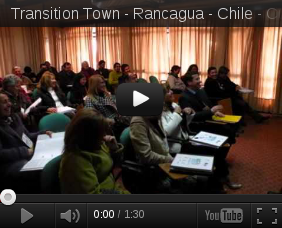 The first certificated course in Transition Town in Rancagua - Chile
