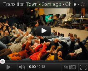 The first certificated course in Transition Town in Santiago - Chile